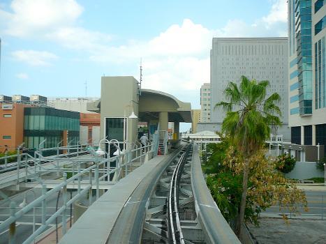 Arena/State Plaza Metromover Station