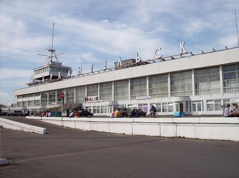 Arghangelsk River & Cruise Terminal