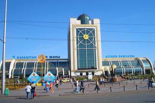 Bahnhof Astana