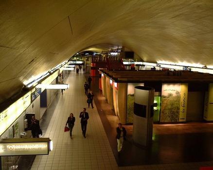 RER A - Bahnhof Auber