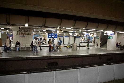 Bahnhof Châtelet - Les Halles