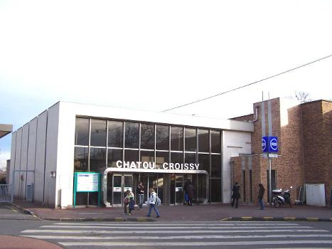 Bahnhof Chatou - Croissy