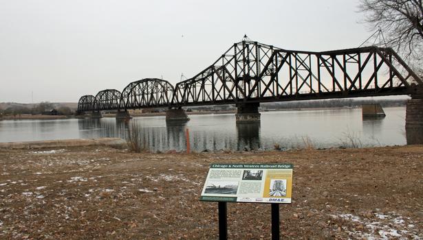 C&NW Rail Bridge