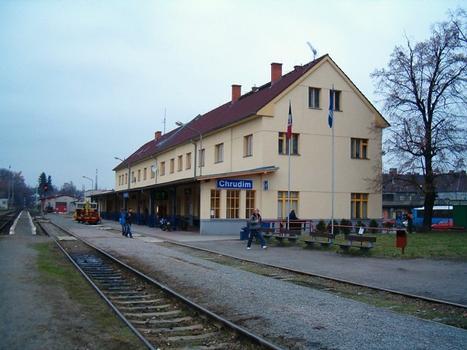 Bahnhof Chrudim