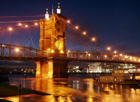 Cincinnati-Covington Bridge