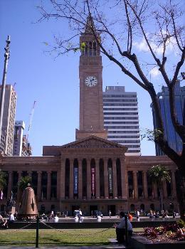 City Hall, Brisbane (photographer: Figaro)