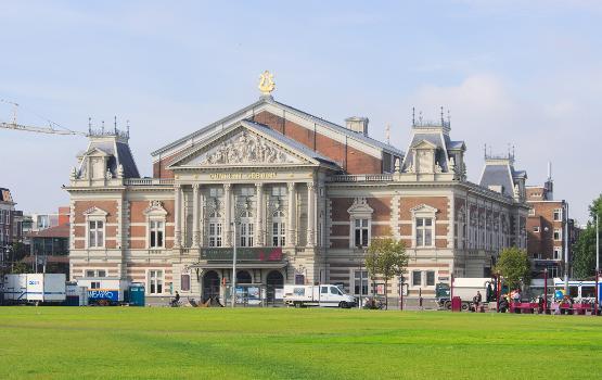 Concertgebouw from Museumplein, Amsterdam