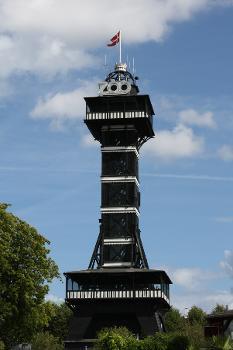 The tower in the Copenhagen Zoo