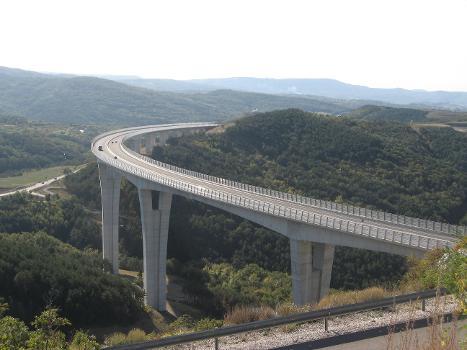Crni Kal Viaduct