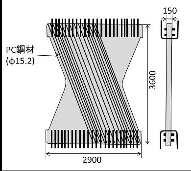 Dimension and Structure of Butterfly Web for Shin-Meishin Mukogawa Bridge