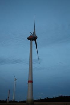Éolienne Enercon E-126 de Schneebergerhof