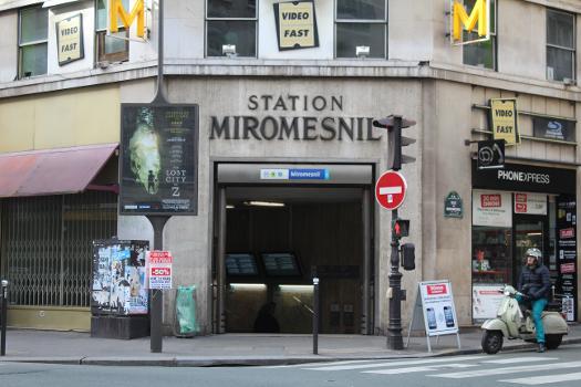 Miromesnil Metro Station