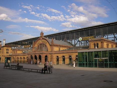 Gare centrale d'Erfurt