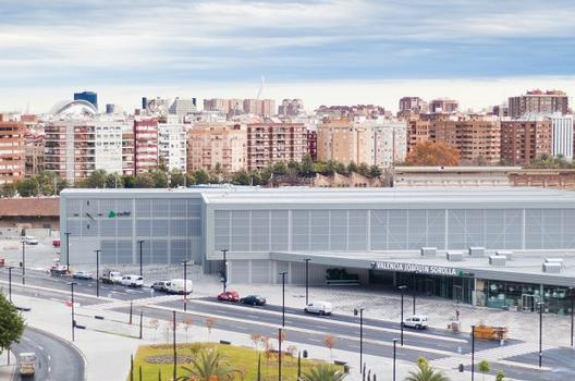Bahnhof Valencia Joaquín Sorolla
