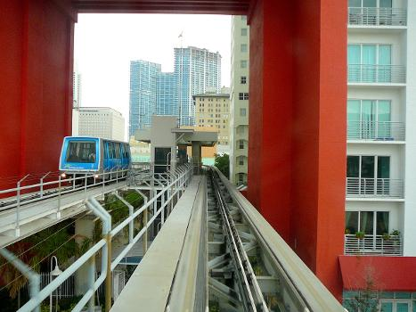 First Street Metromover Station