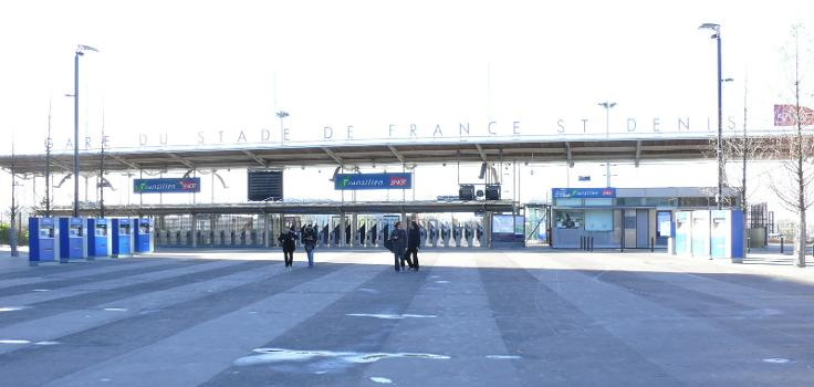 Gare du Stade de France-Saint Denis