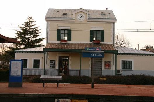 Bahnhof Cesson