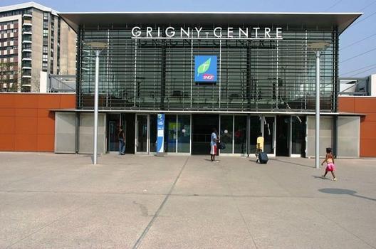Gare de Grigny-Centre