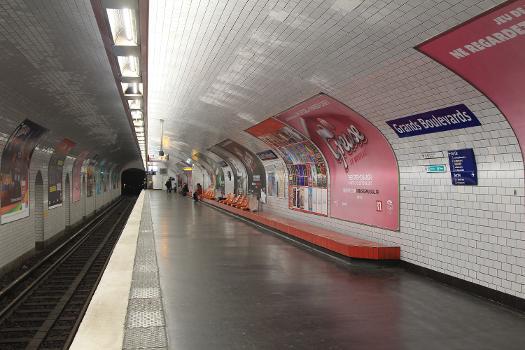 Grands Boulevards Metro Station