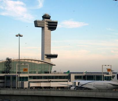 FAA Control Tower at JFK International Airport