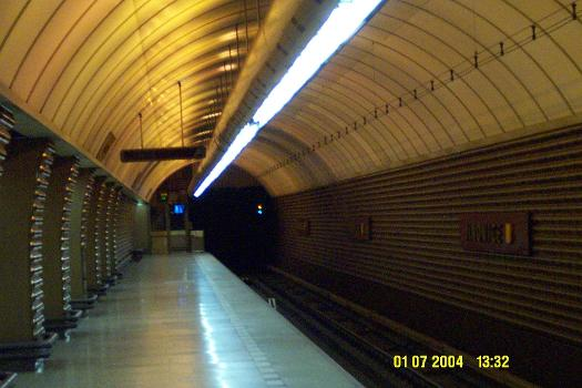 Jinonice Metro Station