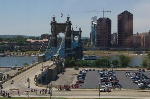 Roebling Suspension Bridge - Cincinnati