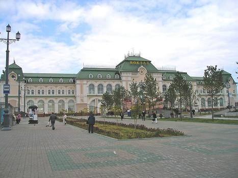 Gare de Khabarovsk-1