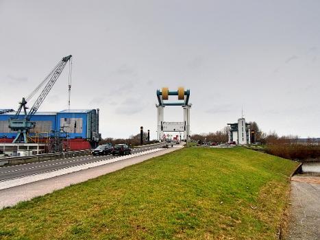 Klappbrücke Estesperrwerk