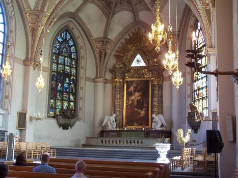 Eglise Sainte-Claire de Stockholm(photographe: Henrik Sendelbach)