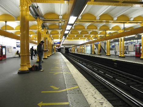 Metrobahnhof Gare de Lyon