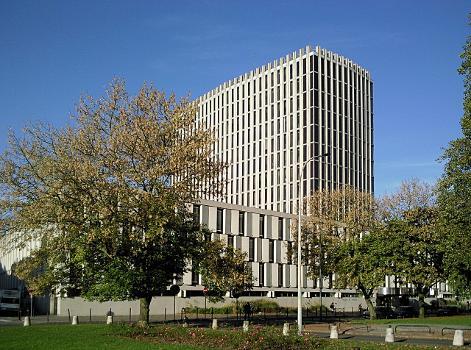 Le Palais de Justice de Lille (Nord)