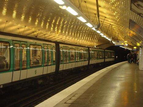 Metrobahnhof Ménilmontant