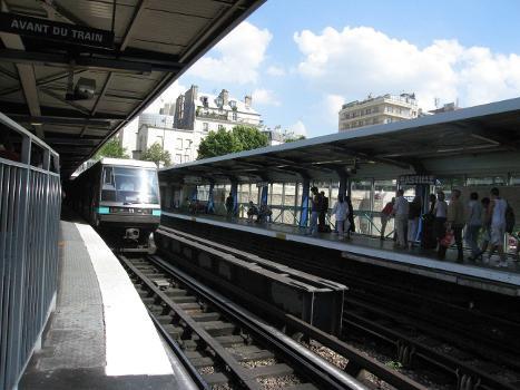 Bastille Metro Station