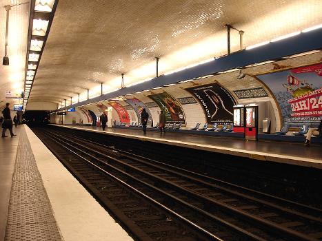 Station de métro Richelieu - Drouot