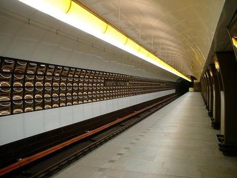Námestí Republiky Metro Station (photographer: Philip Lindsay)