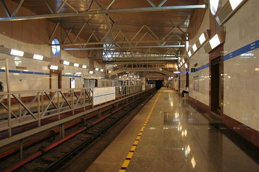 Parnas Metro Station