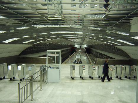 Metrobahnhof Beryozovaya Roshcha