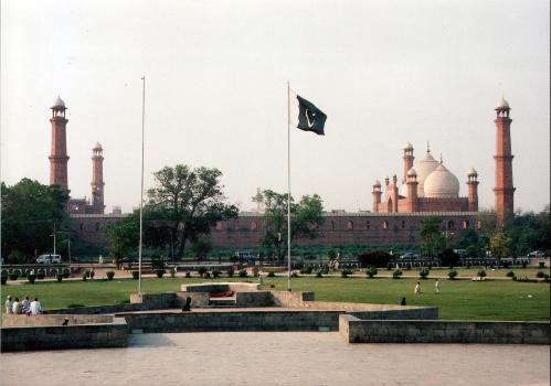 Badshahi-Moschee(Fotograf: Amjad Mushtaq)