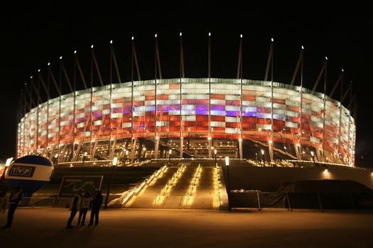 Stade nationale à Varsovie
