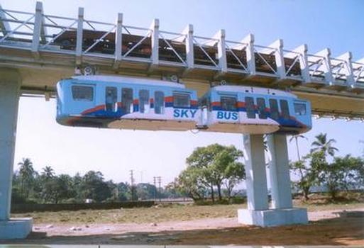 Skybus Metro-Teststrecke