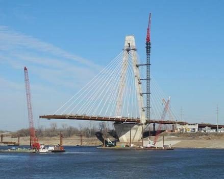 New Mississippi River Bridge at Saint Louis