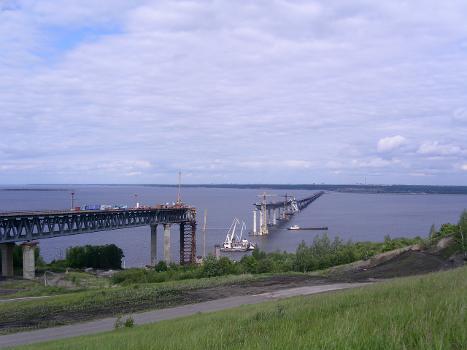 Wolgabrücke Uljanowsk