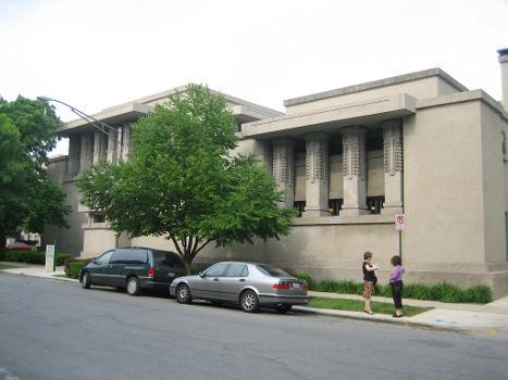 Unity Temple, designed by Frank Lloyd Wright : Oak Park, Illinois, National Historic Landmark