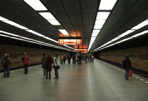 Opatov Metro Station