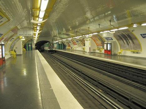 Station de métro Goncourt
