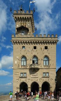 Palazzo Pubblico, San Marino (Fotograf: Andreas Trepte)