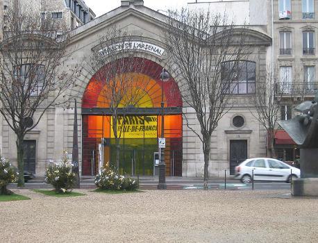 Pavillon de l'Arsenal - Paris - 4éme