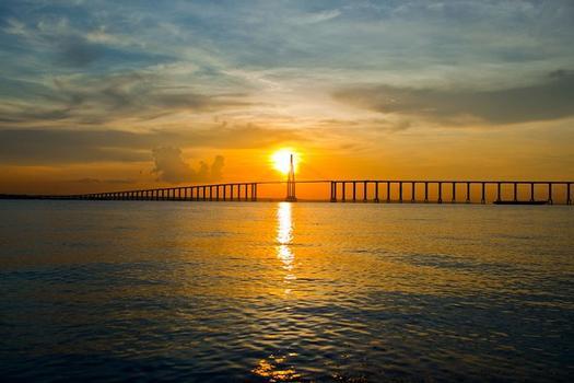 Pont sur le Rio Negro