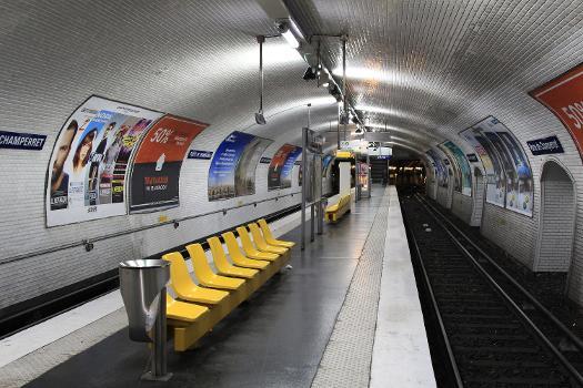 Station de métro Porte de Champerret
