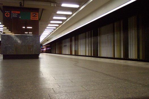 Dejvická Metro Station